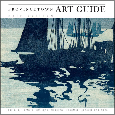 2012 Provincetown Art Guide cover