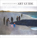cover of 2014 Provincetown art guide - click to see full issue