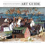 cover of 2015 Provincetown art guide - click to see full issue