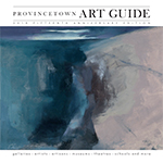 cover of 2018 Provincetown art guide - click to see full issue