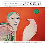 cover of 2019 Provincetown art guide - click to see full issue